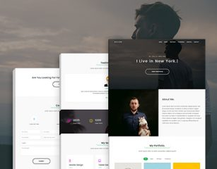 Rolling – Freelancer Portfolio Template