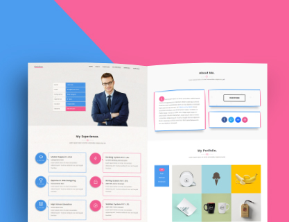 Webres Personal Resume Bootstrap Template Uipasta